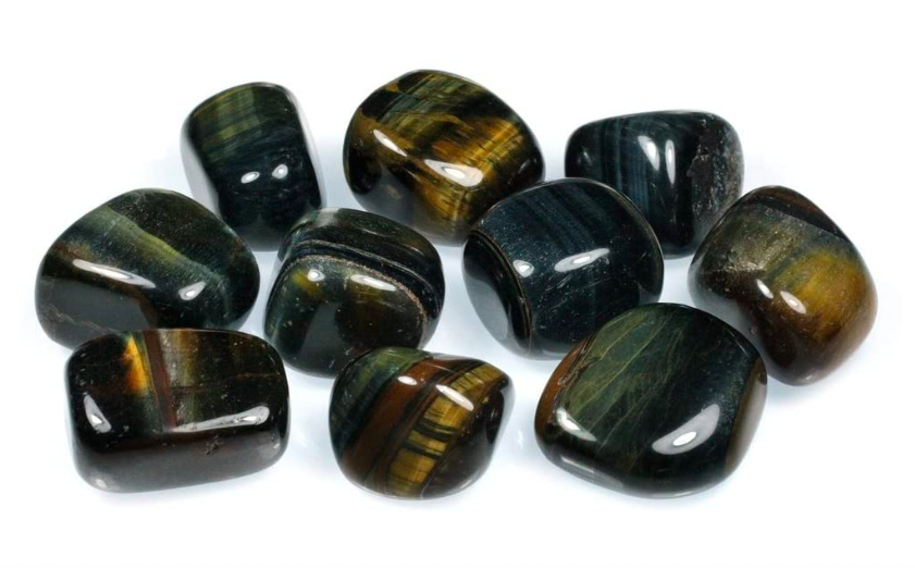 Blue Tigers Eye Tumblestones