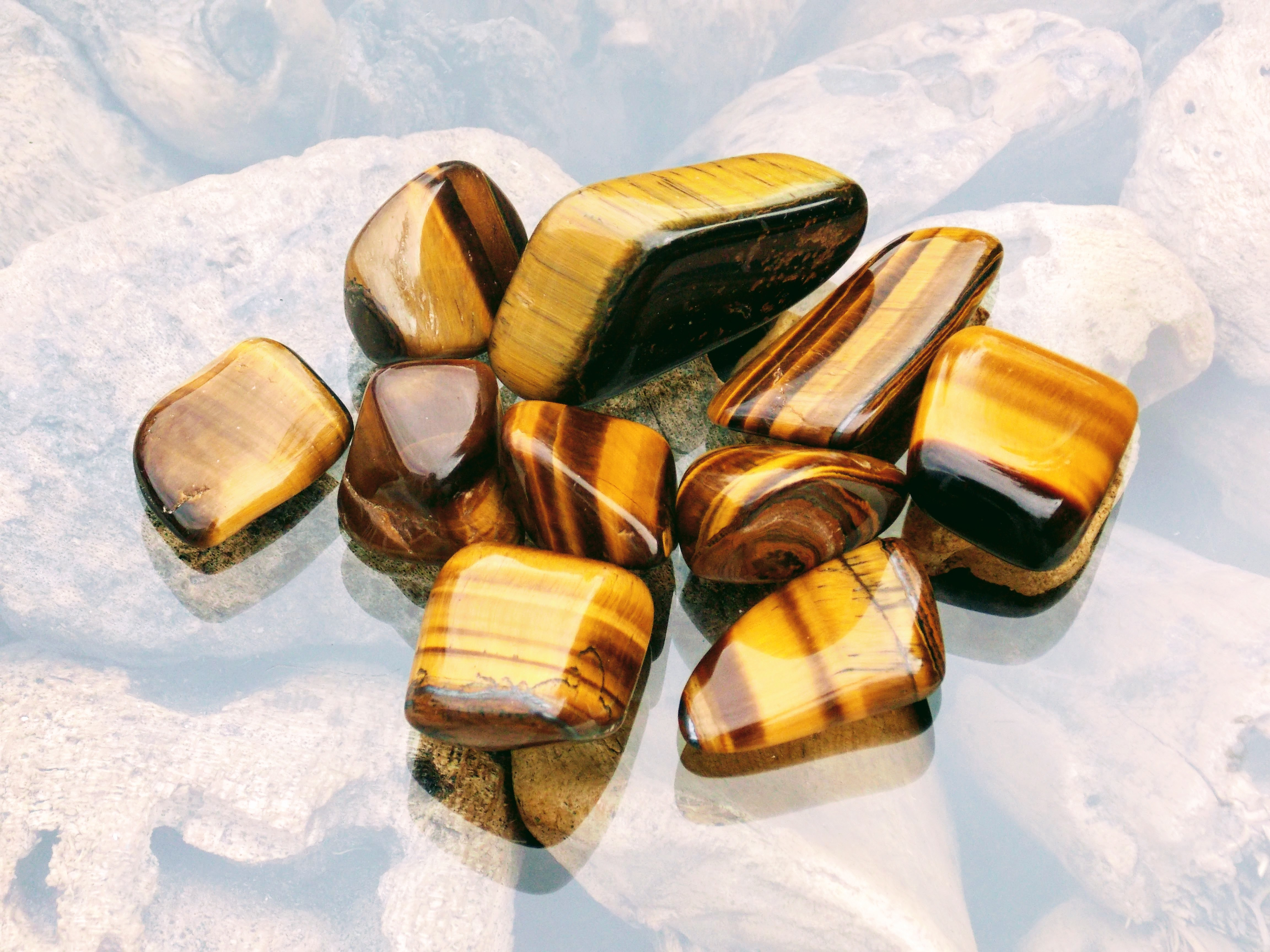 Golden Tiger Eye Tumblestones