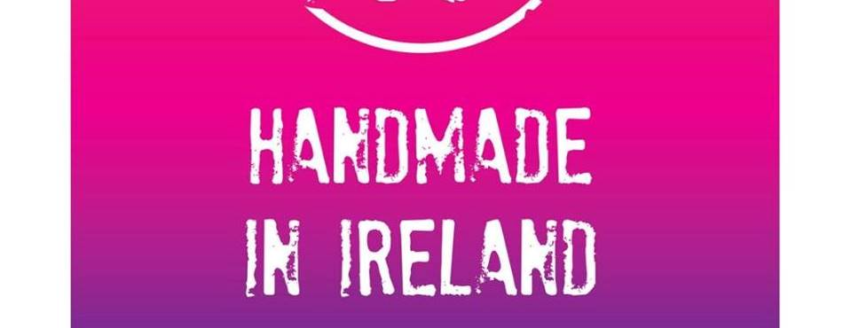 "New ""Handmade in Ireland"" Logo for the Gifted Fair this Christmas."