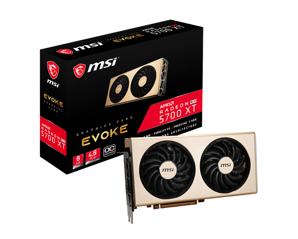 MSI Radeon RX 5700 XT 8 GB Evoke OC Graphics Card