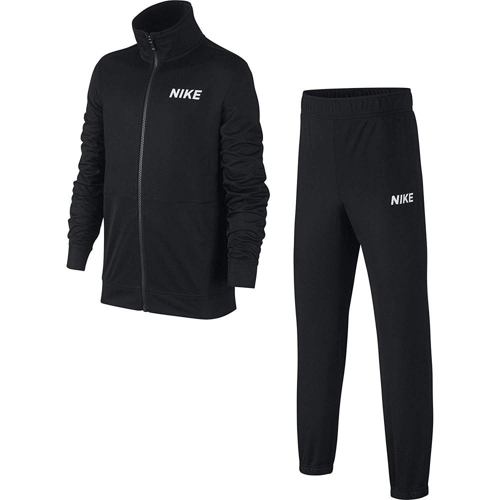 Nike Poly Track Suit Black-White