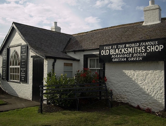 The Old Blacksmith's Shop, Gretna Green