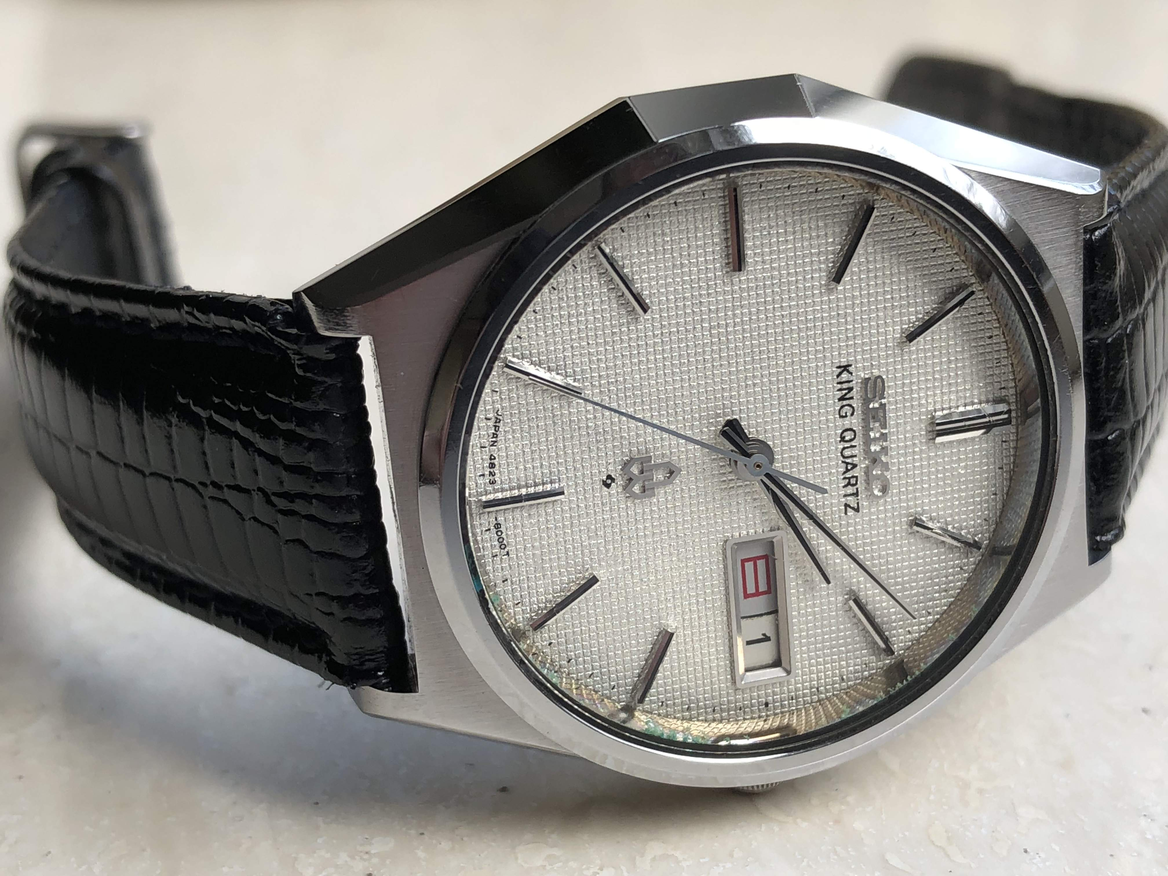 Seiko King Quartz 4823-8050 (sold)