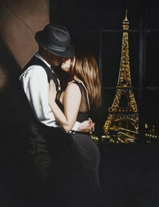 Midnight in Paris Jack Vettriano