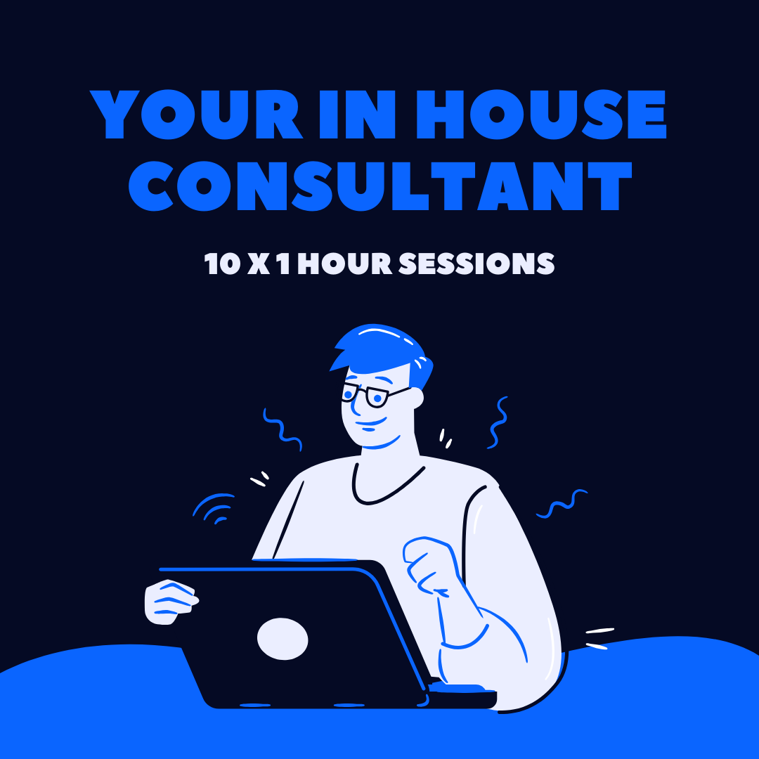 10 x 1 hour Consultancy Package