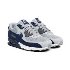 Nike Air Max 90 Grey-Navy-White