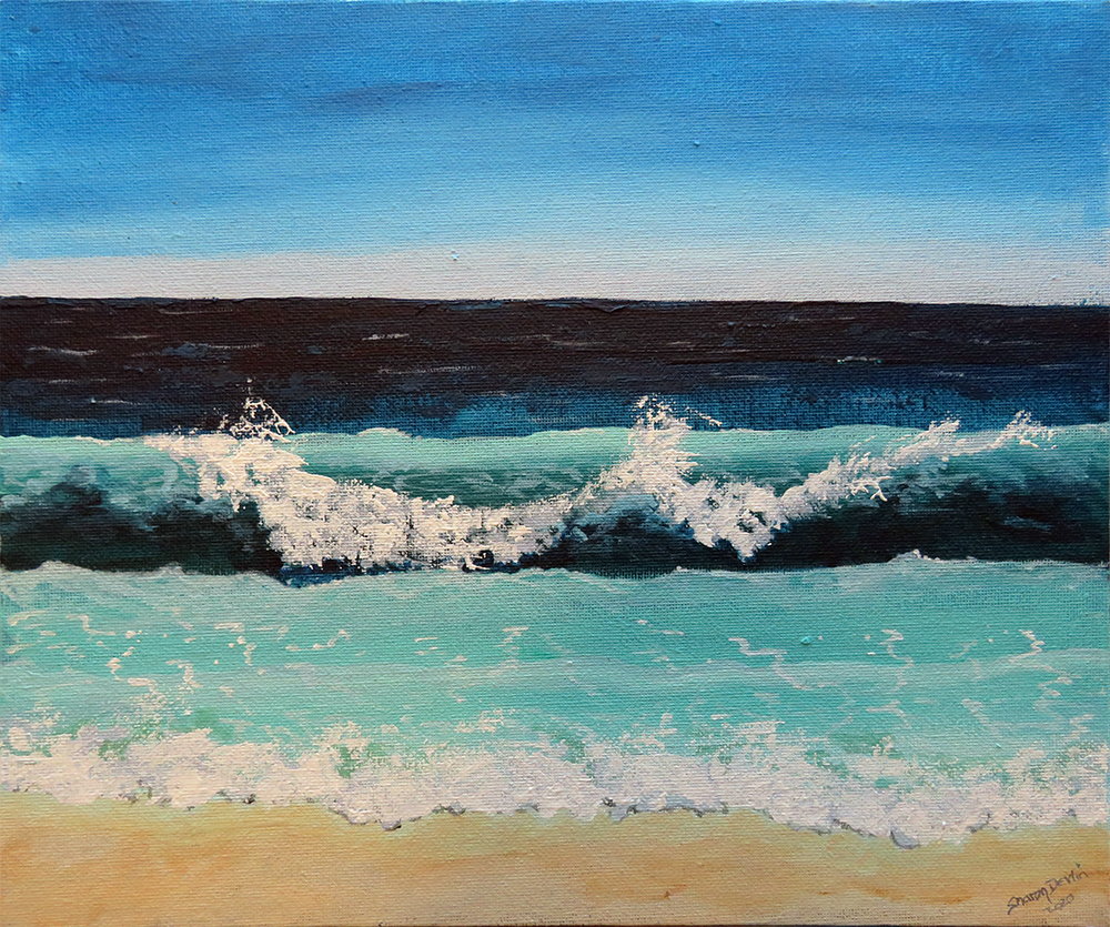 Away On A Wave by Sharon Devlin
