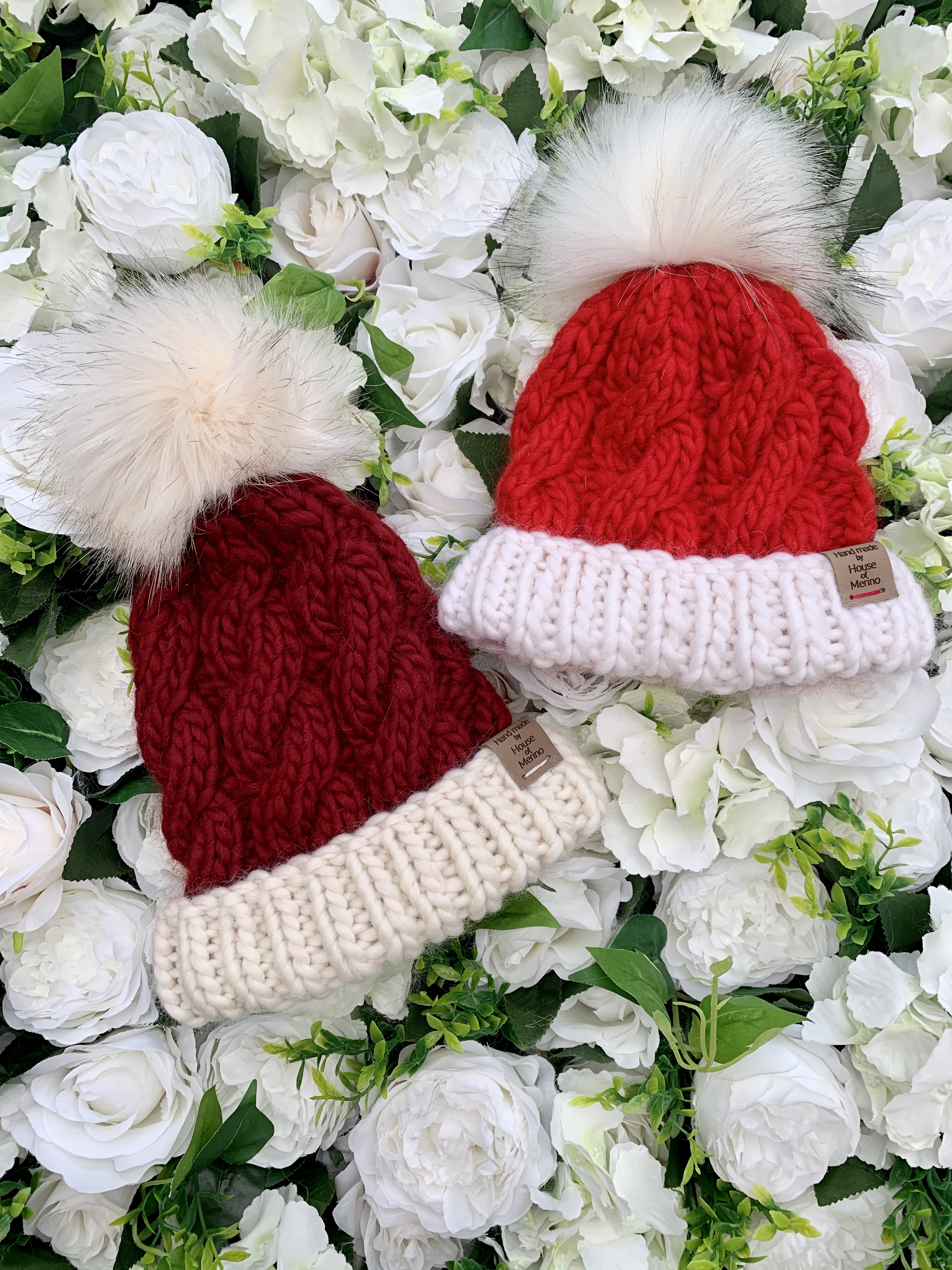 Merino hats - Christmas