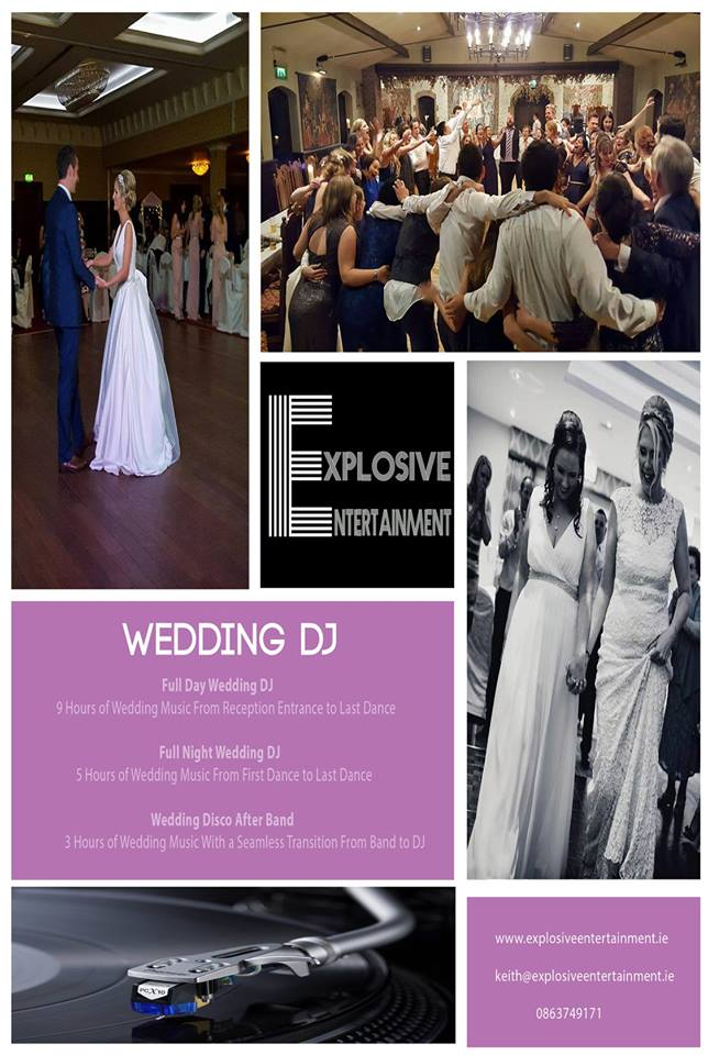 Wedding dj dj wedding dj hirewedding entertainment wedding dj flyer solutioingenieria Images