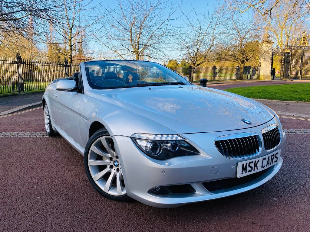 BMW 6 Series 4.8 650i Sport 2dr