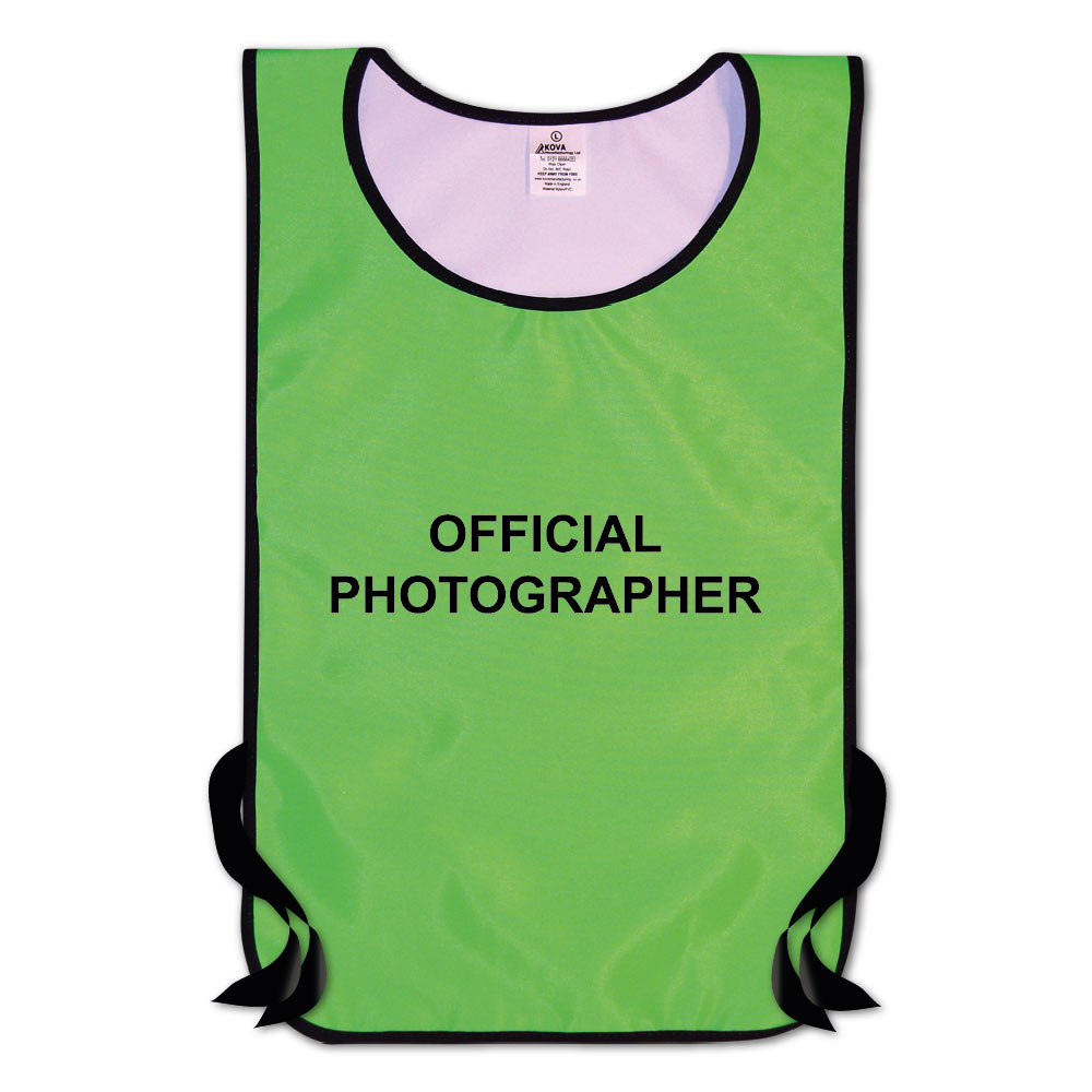 Official Photographer Hi Vis Tabards