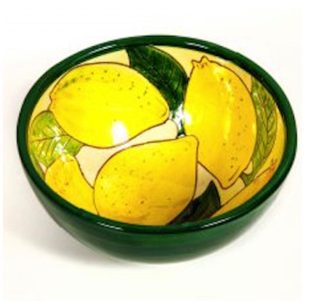 Lemons Design appetiser Bowl Spanish Ceramics Range