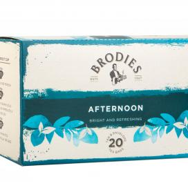 Brodies Melrose Afternoon Tea. Tag and Envelope tea bags.  86g
