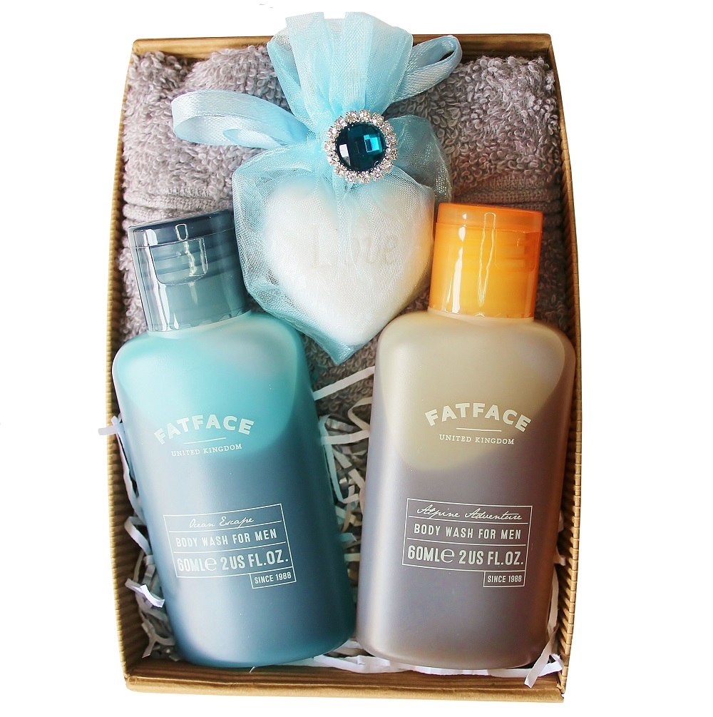 Gift set for Him with 'Fat Face'