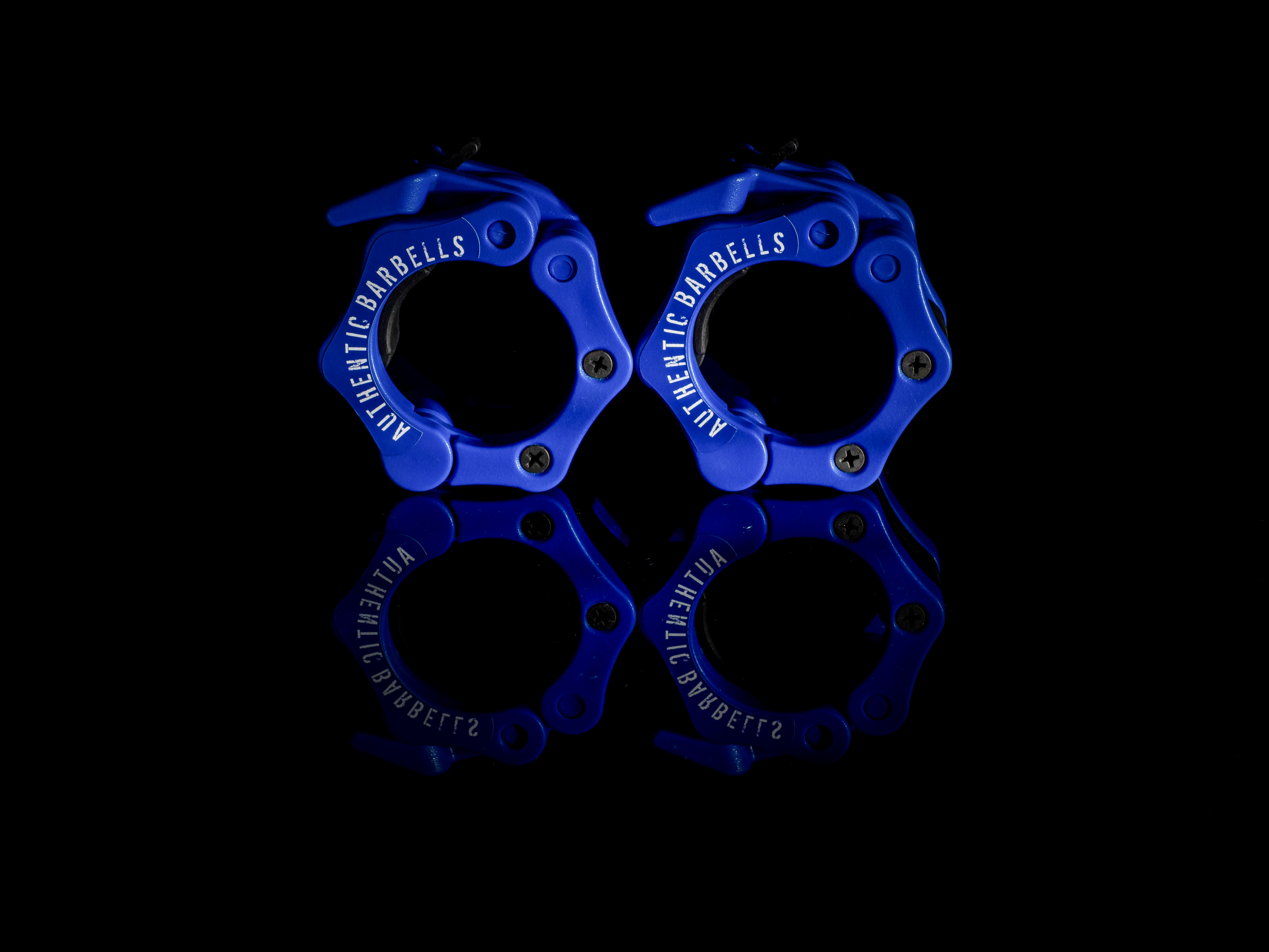 Reliable Blue Barbell Clamp