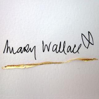 Mary Wallace - contemporary Irish artist - signature