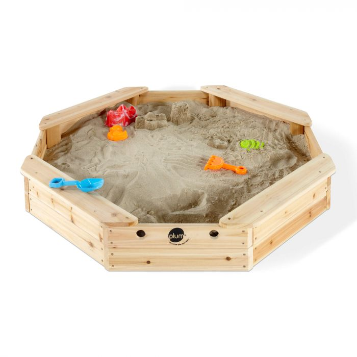Treasure Beach Wooden Sand Pit & Cover