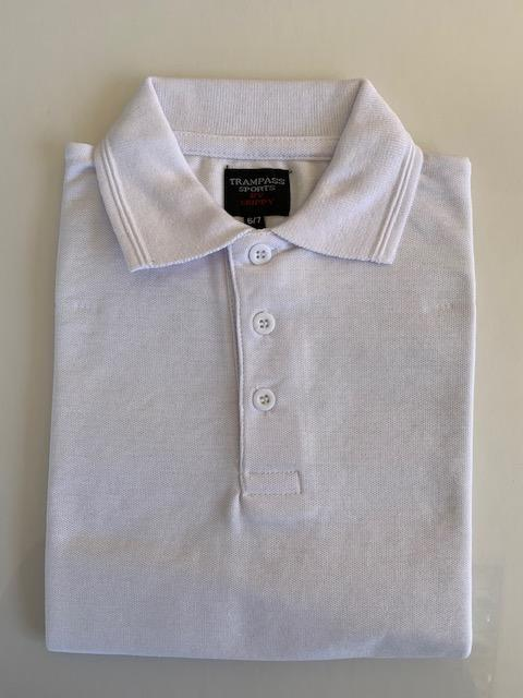 GNM Plain White Polo Shirt