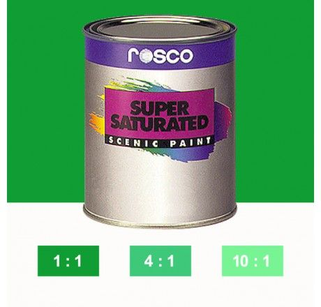 Rosco Supersaturated Paint Emerald Green 5972 1 Litre