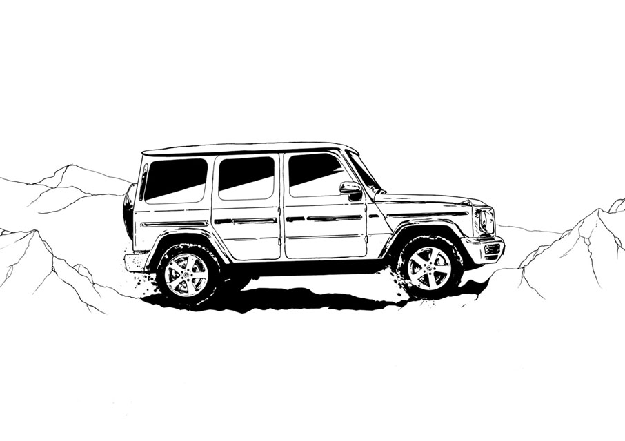 G-Class 2018 - Advertising Campaign