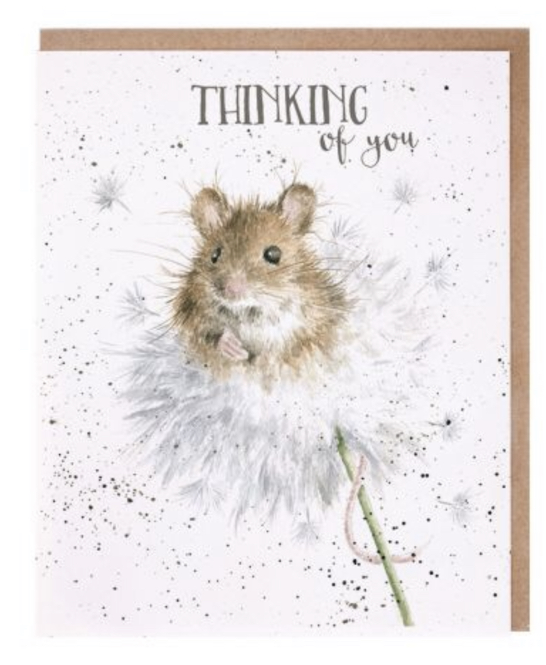 Wrendale 'Thinking Of You' Greetings Card