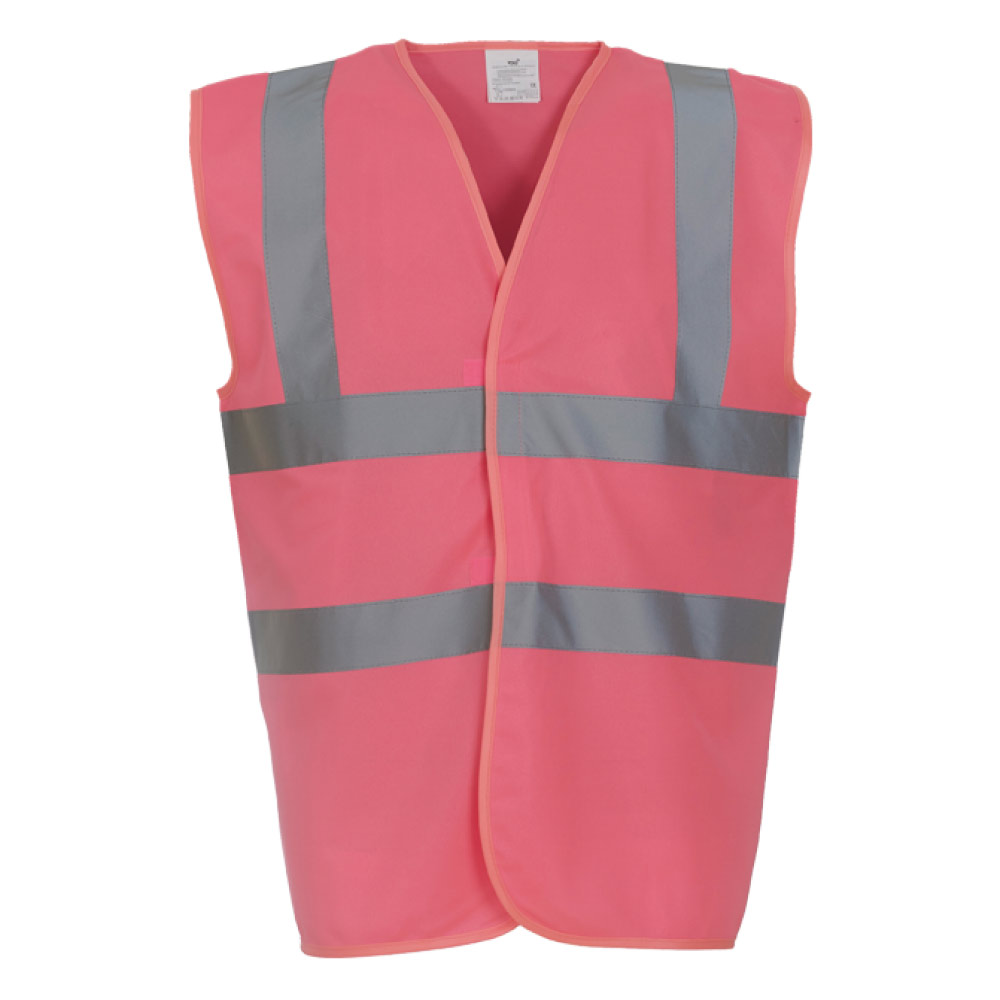 Pink Hi Vis Safety Vest