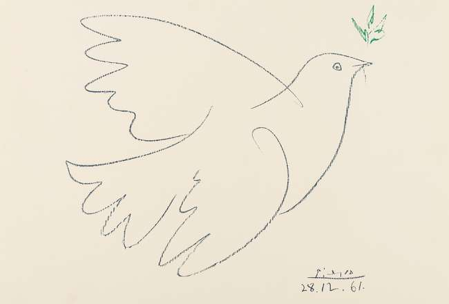 La Colombe De La Paix (The Dove of Peace) - Pablo Picasso
