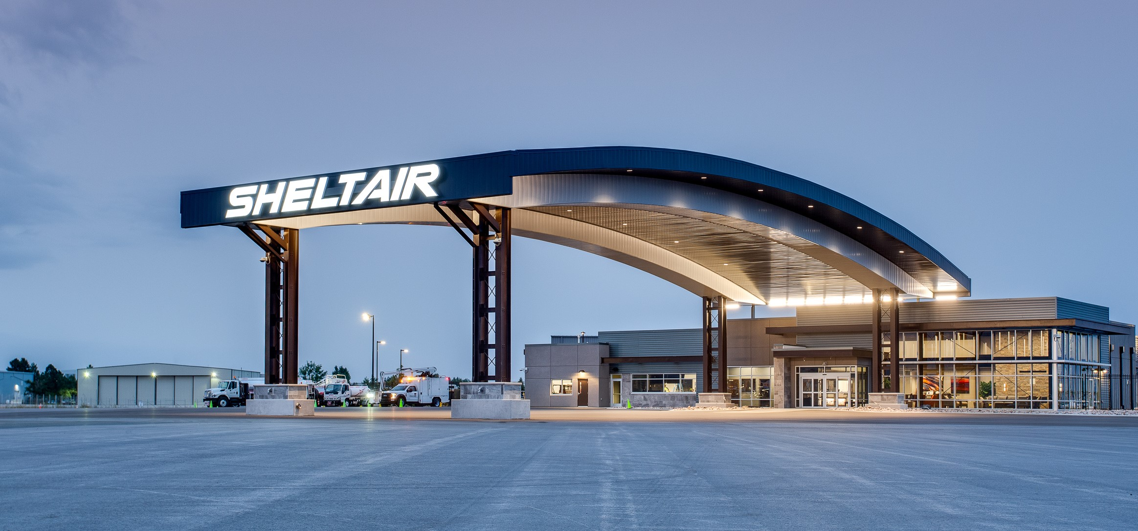 Sheltair Unveils New Denver FBO Terminal and Hangar Complex