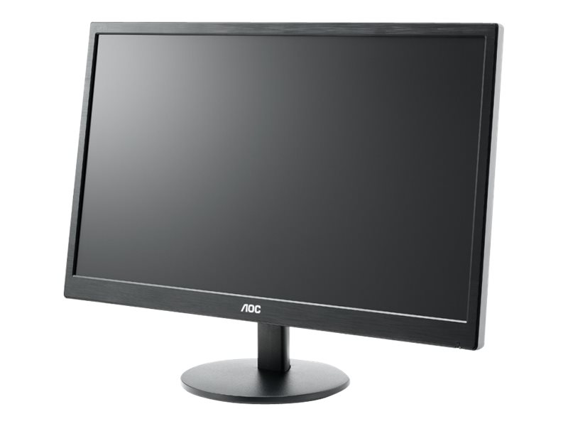 23.6 Inch AOC LED Monitor, Full HD, VGA & HDMI, Speakers - Black