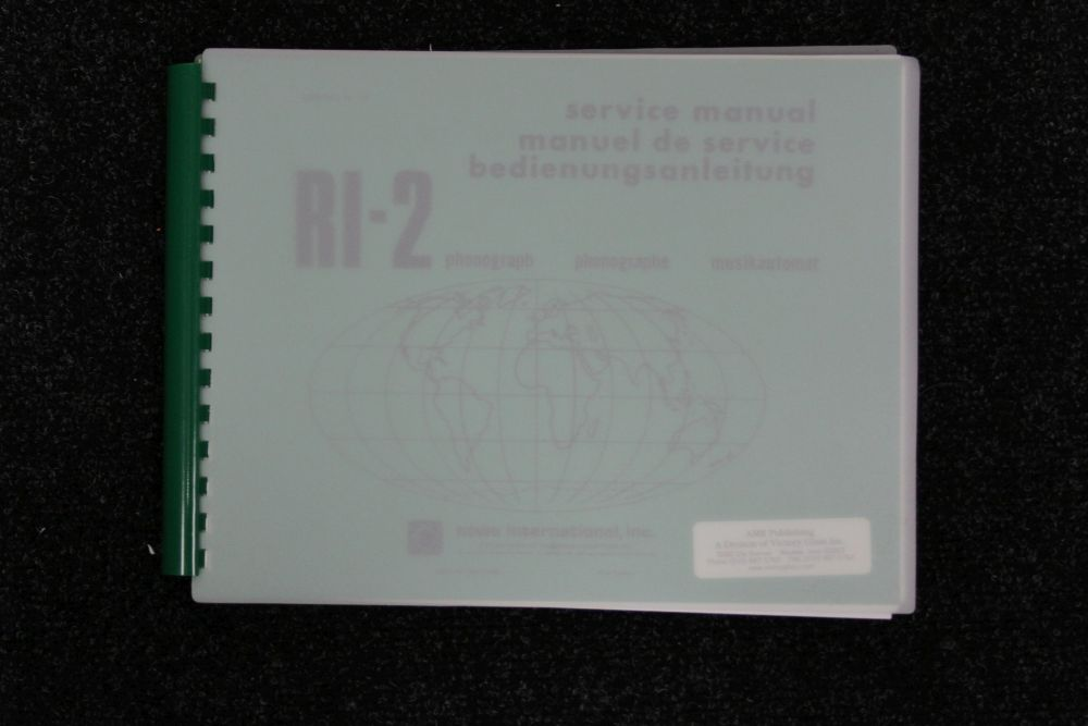 AMI - Service Manual - Model RI2