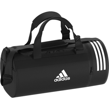 3S Convert Duffle Bag SMALL Black-White