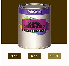 Rosco Supersaturated Paint Raw Umber 5986 1 Litre