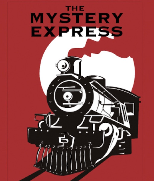 LOGO FOR THE MYSTERY EXPRESS ESCAPE ROOM GAME EPSOM