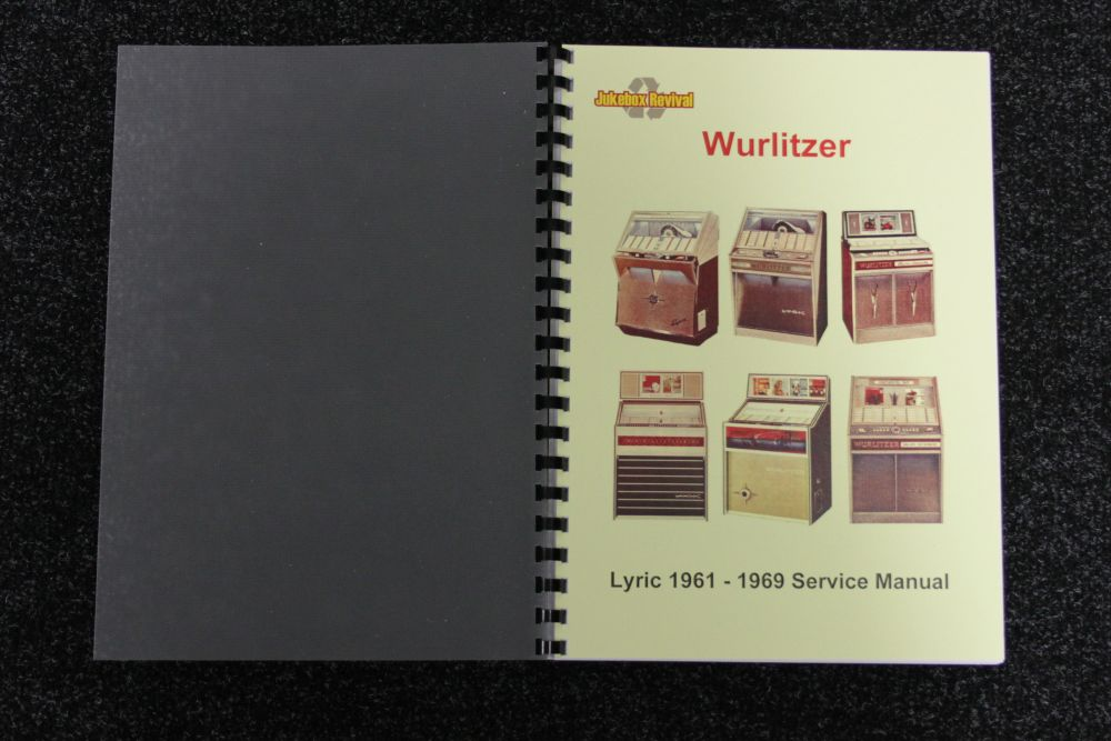 Wurlitzer Lyric 1961 - 1969 Service Manual