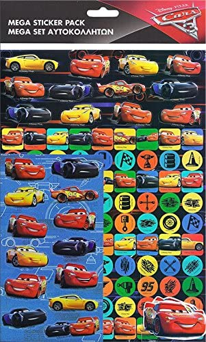 Disney Pixar Cars Sticker Pack