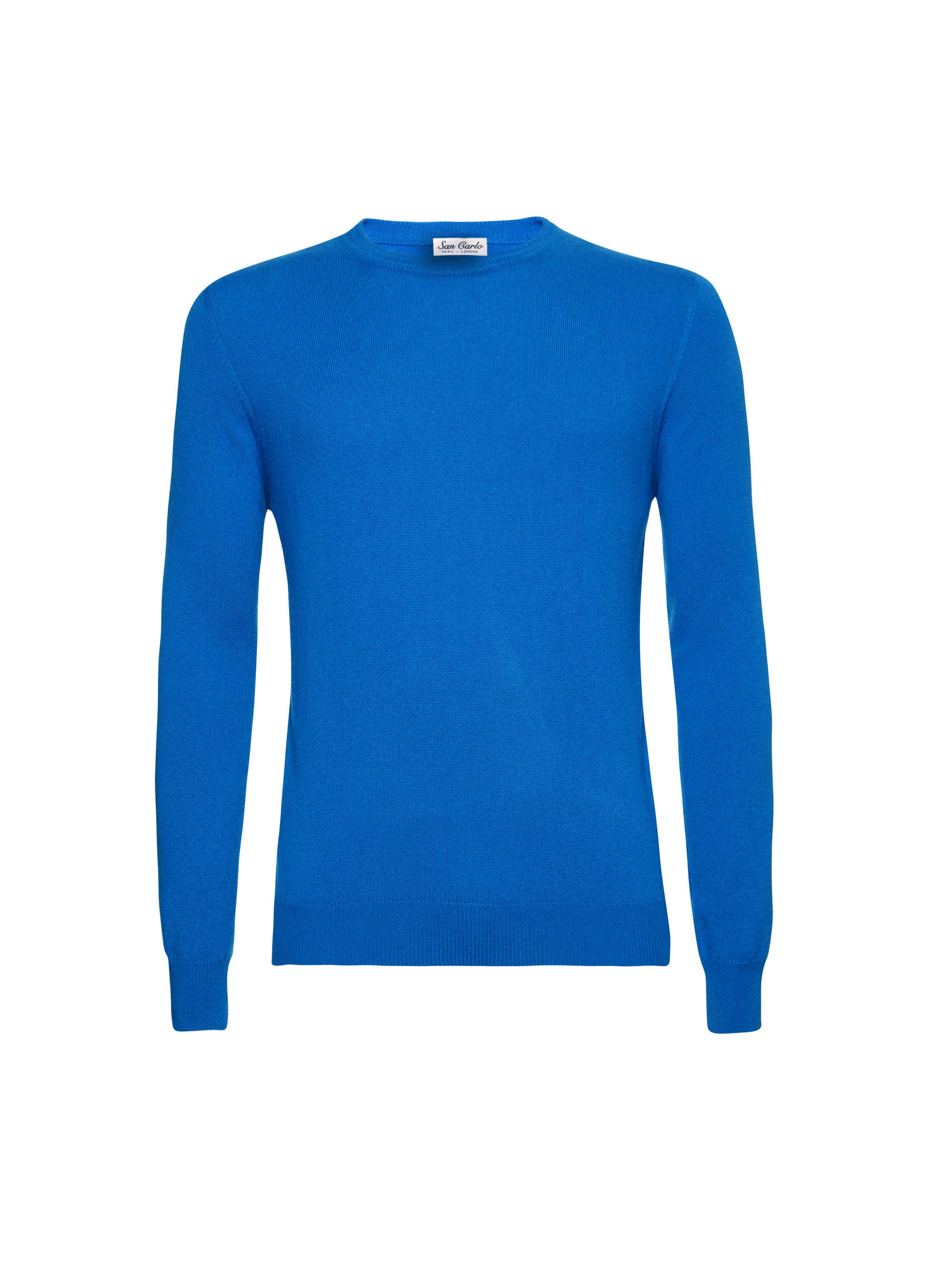 Round Neck Cashmere royal blue 02