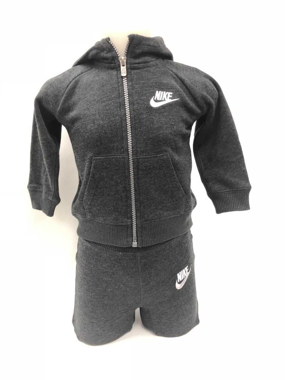 Nike NSW Tracksuit Charcoal Grey-White