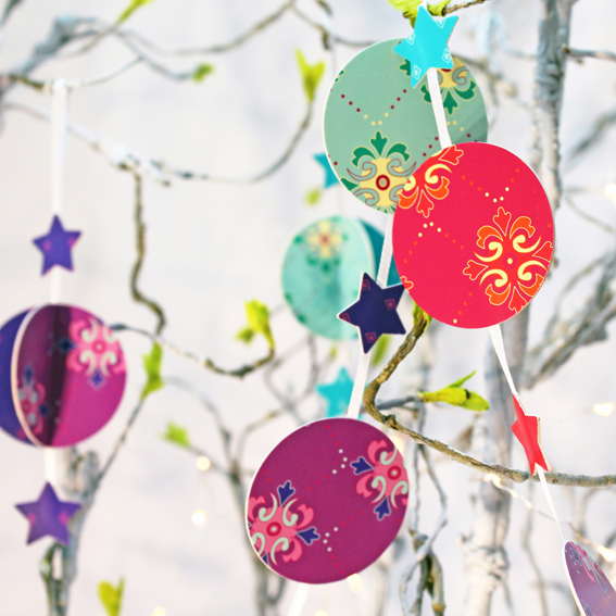 SORRY SOLD OUT - Make your own - Garland KIT - mixed colours