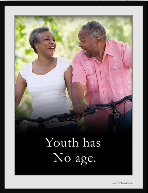 Youth has no...