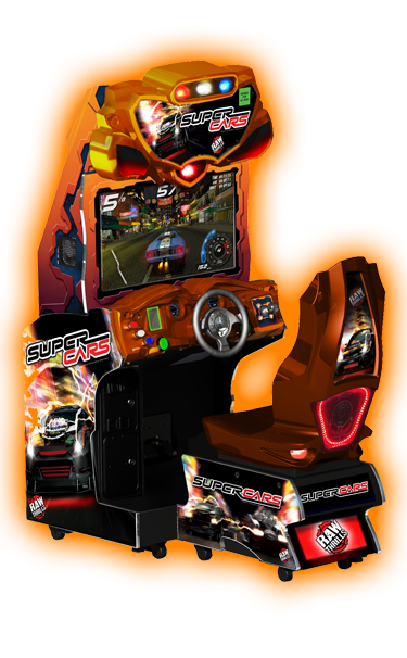 "Racing game ""super cars"""
