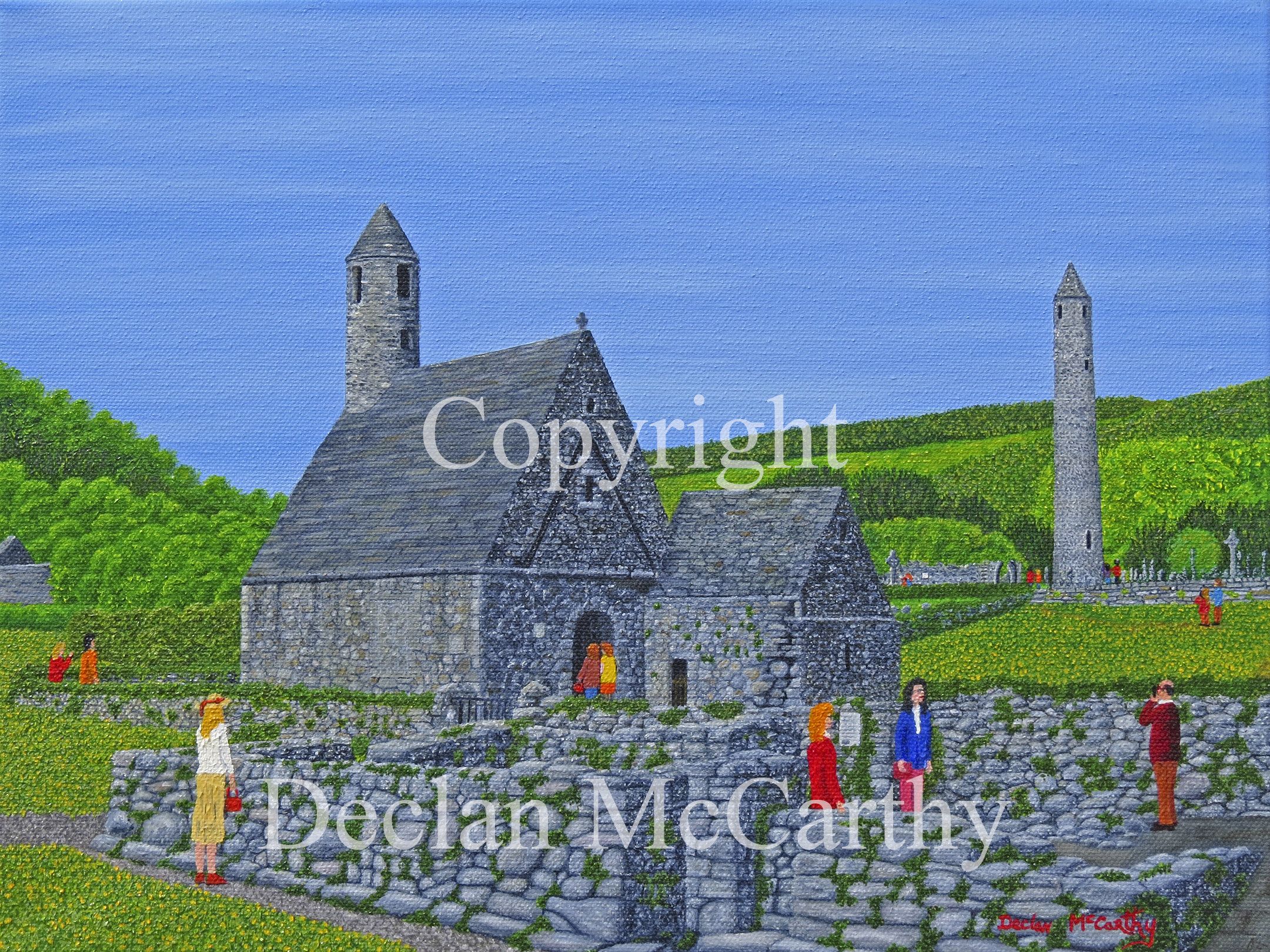 St. Kevin's Kitchen, Glendalough