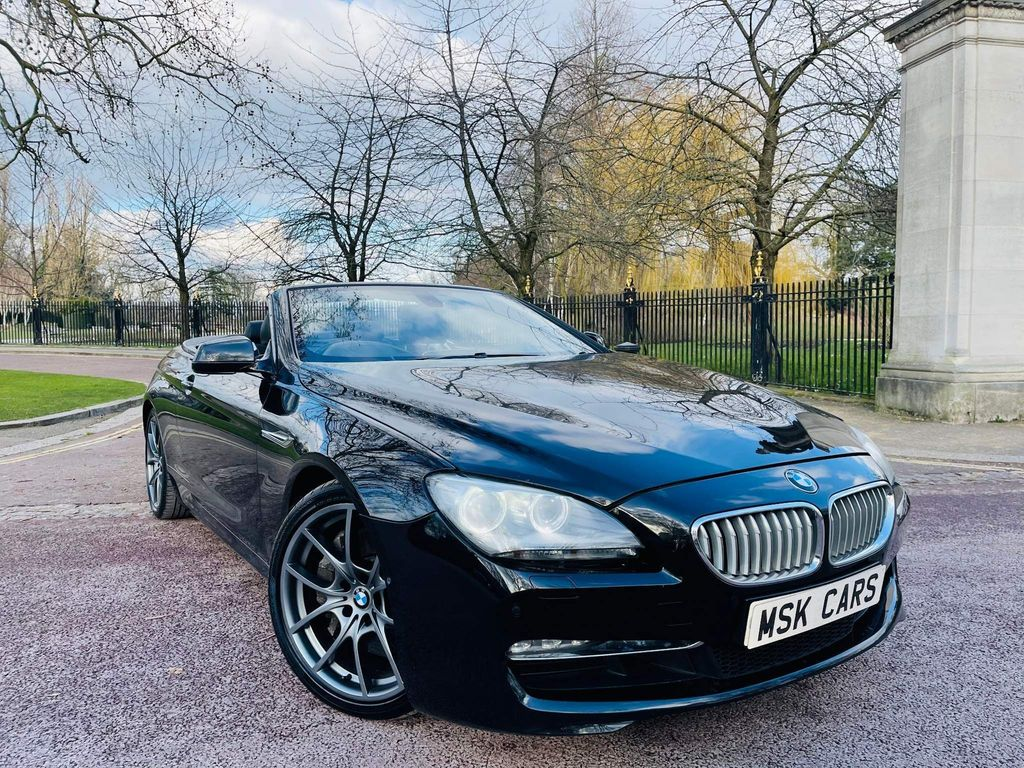 BMW 6 Series 2011 650i V8 SE 2dr