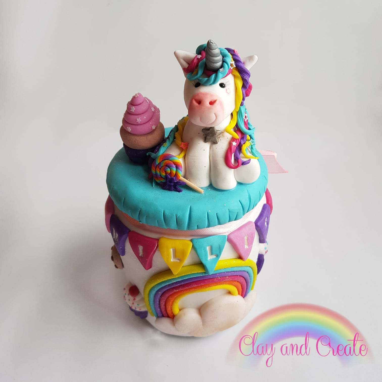 Unicorn penny pot