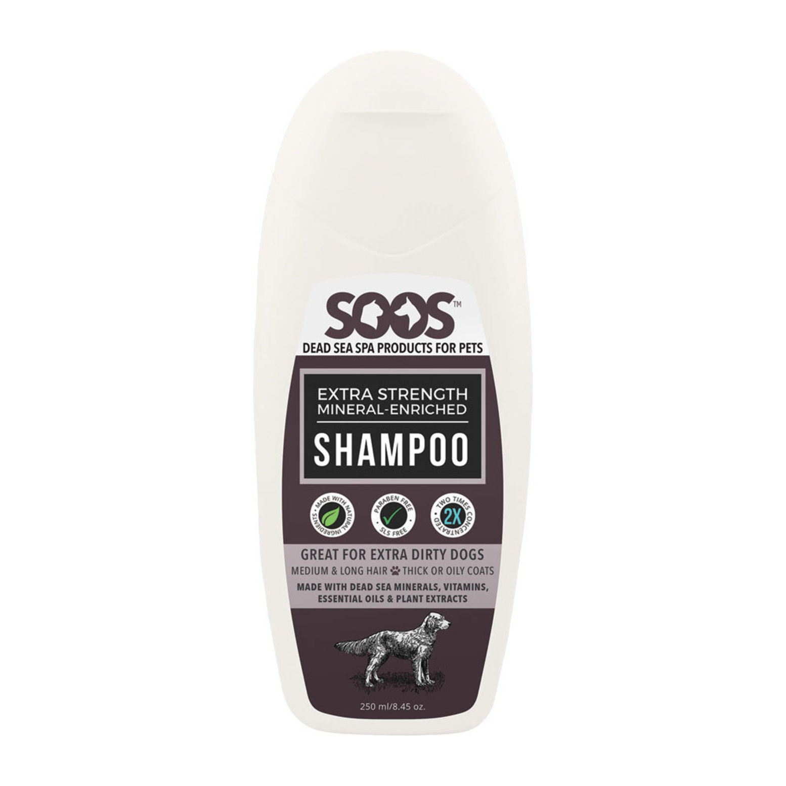 Extra Strength Mineral Enriched Shampoo