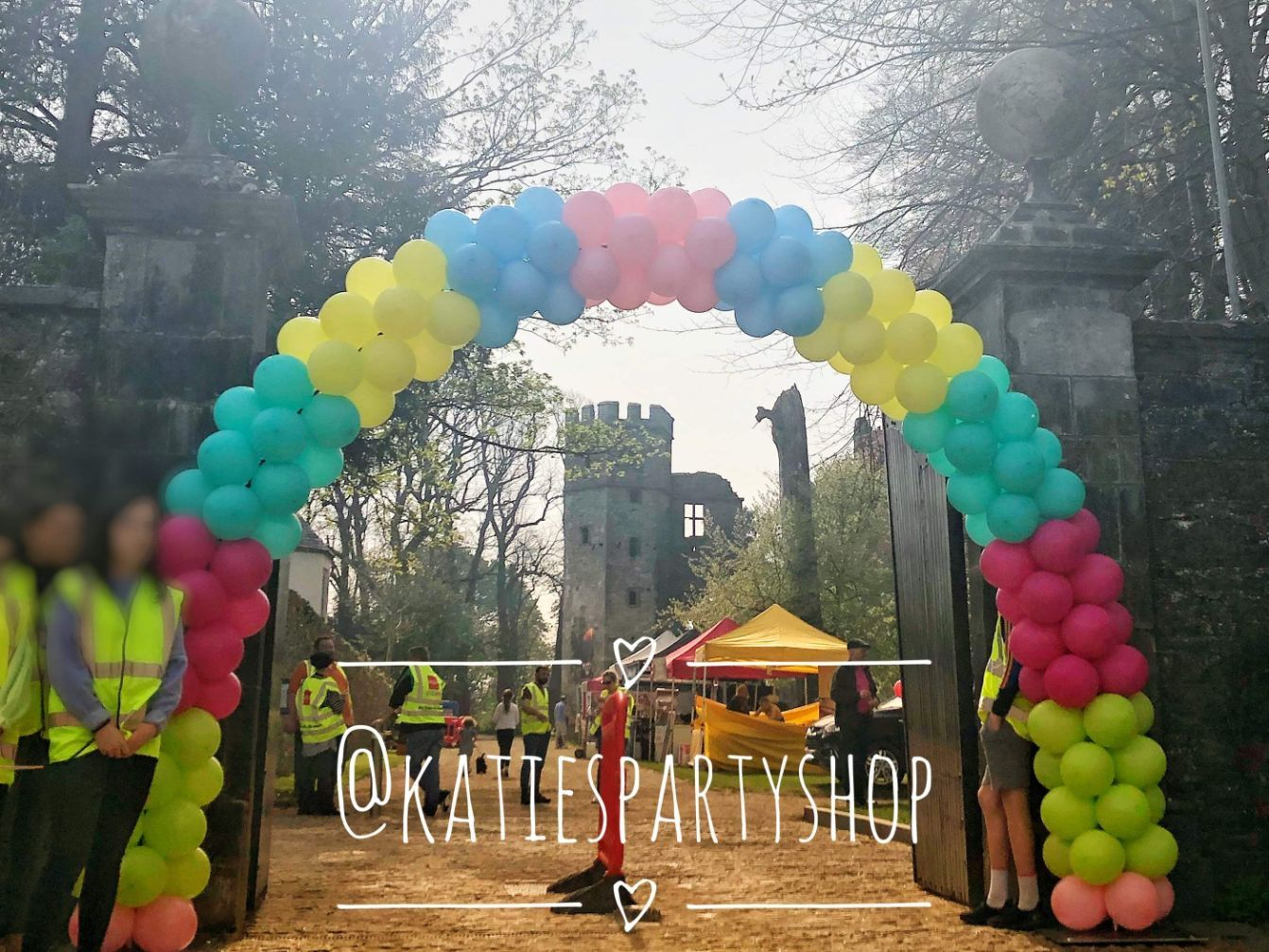 Balloon Arch For Corporate Events