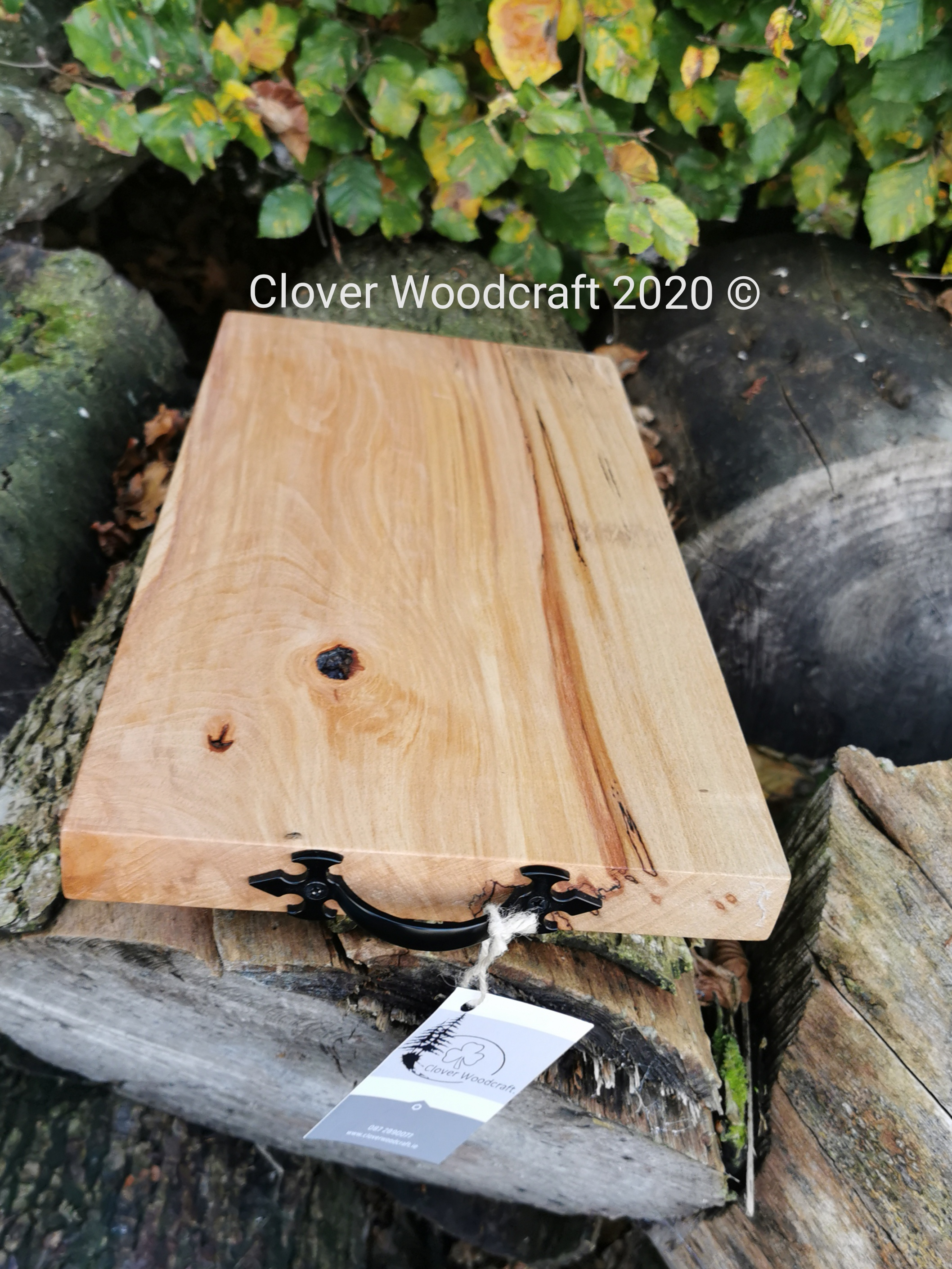 Handcrafted Irish Spalted Beech Bread/Cutting Board