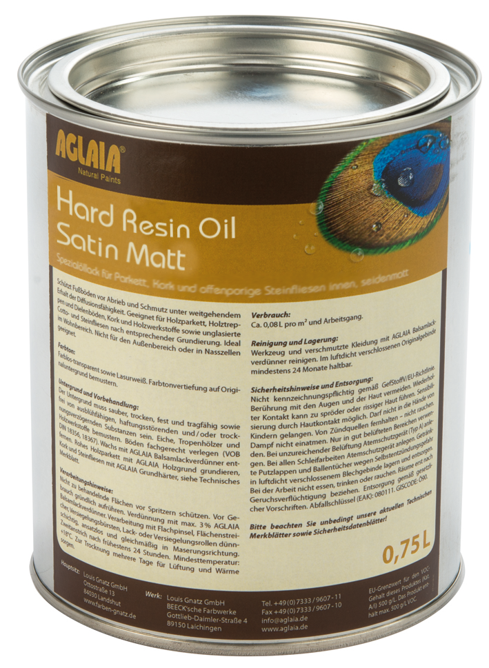 Aglaia Hard resin Oil