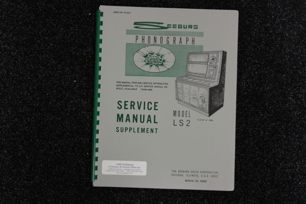Seeburg - Service Manual Supplement - Model LS2