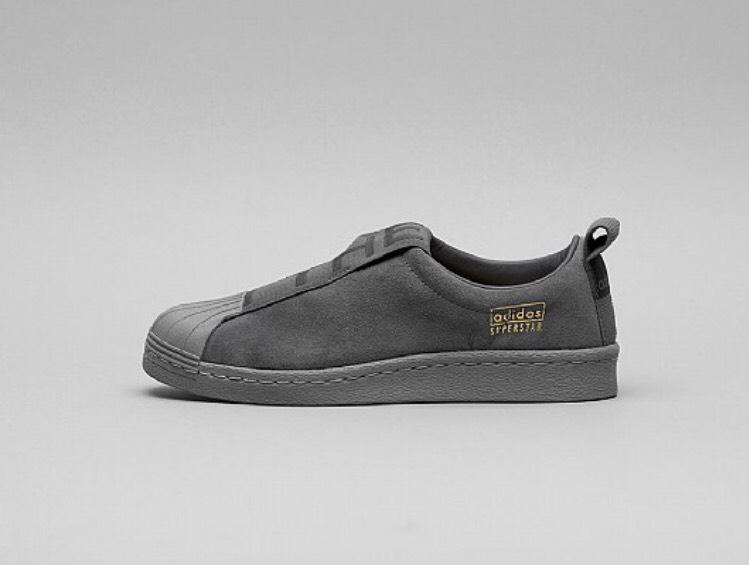 b770132e2 Adidas Originals Superstar BW Slip-On Dark Grey