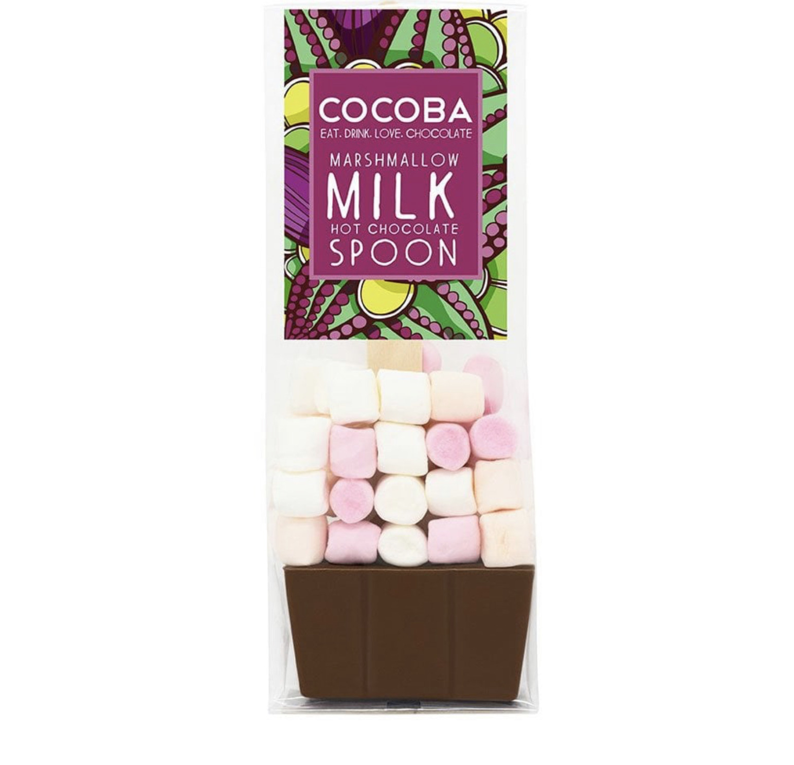 Cocoba Marshmallow Milk Hot Chocolate Spoon